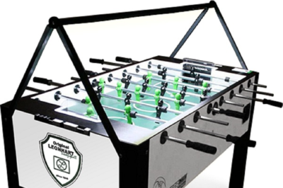 Leonhart Soccer mit Kicker LED Beleuchtung von Kickerlight